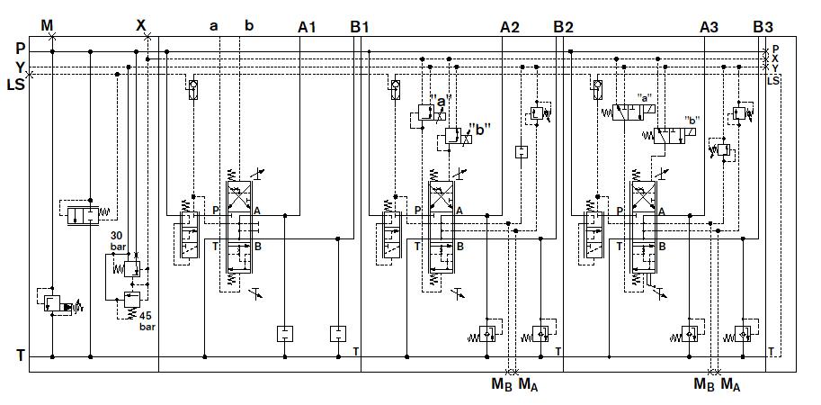 Hydrauliek schema